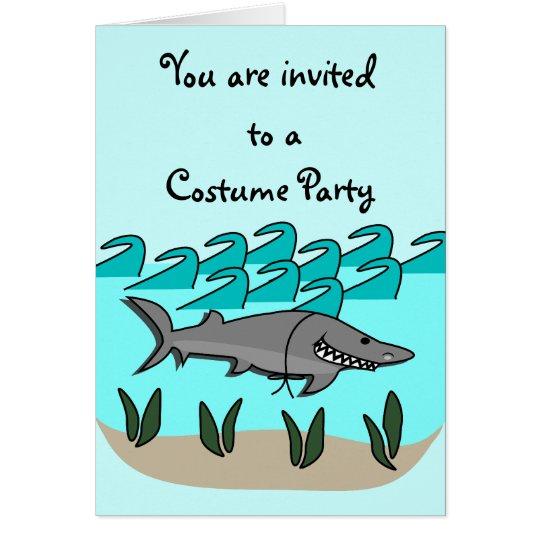 El tiburón Pranks la tarjeta