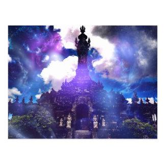 El tiempo del templo olvidó postal