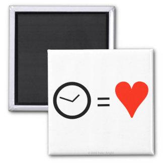 El tiempo es amor - imán