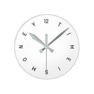 El tiempo es oro - reloj de pared