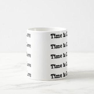 El tiempo es taza de café del amor