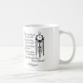 El tiempo es taza eterna, cita de Shakespeare