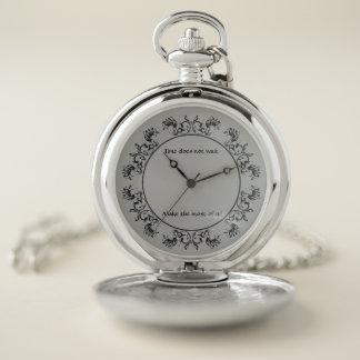 El tiempo no espera el reloj de bolsillo