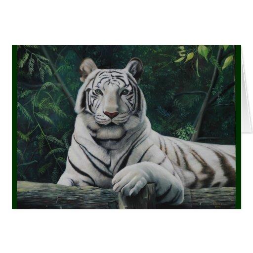 el tigre blanco felicitacion