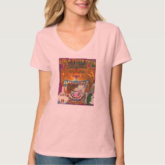 El tigre del diente del sable camiseta