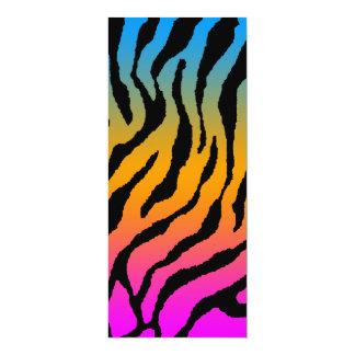 El tigre del tigre 80s de Corey raya el modelo Comunicados Personalizados