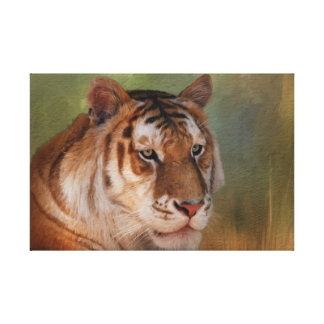 El tigre - impresión de la lona de Tigres del