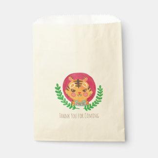 El tigre lindo bolsa de papel