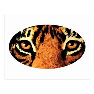El tigre observa jGibney del arte los regalos de Postal