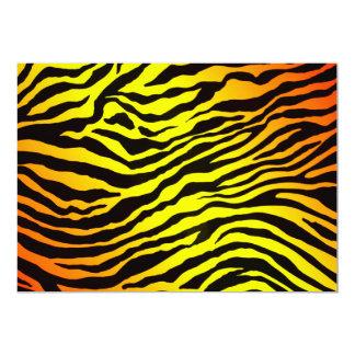 El tigre raya la invitación