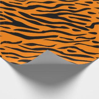 ¡El tigre rayó el papel de embalaje - regalos para