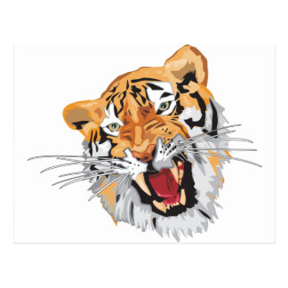El tigre tarjetas postales