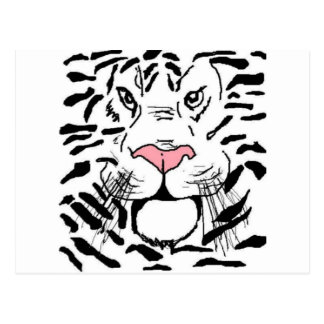 El tigre postales