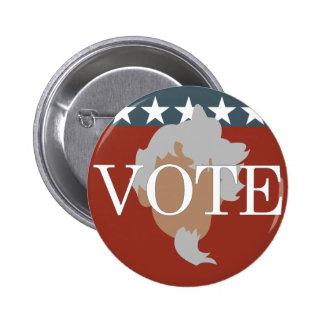 El tío Sam quisiera que usted votara el botón