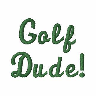 El tipo del golf pone verde la camisa bordada polo