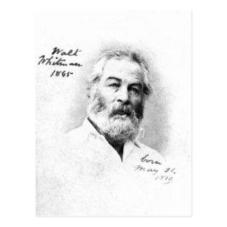 El ❝To de Walt Whitman esté con los amigos es cita Postal