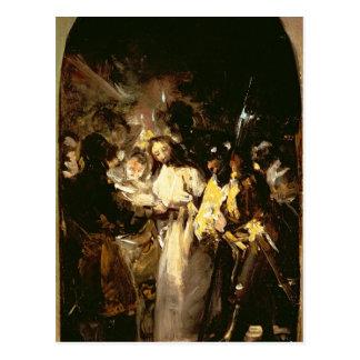 El tomar de Cristo, c.1798 Postal