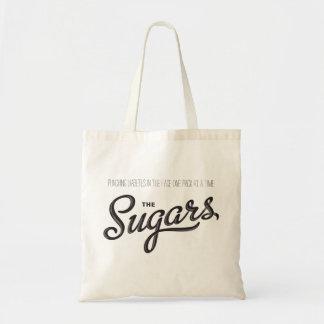 El tote de la fanfarronería de los azúcares bolsa tela barata