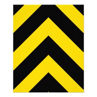 El tráfico intrépido de la carretera manosea folleto 11,4 x 14,2 cm