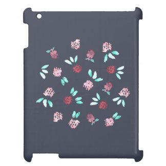El trébol florece la caja brillante del iPad