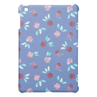 El trébol florece la mini caja del iPad mate