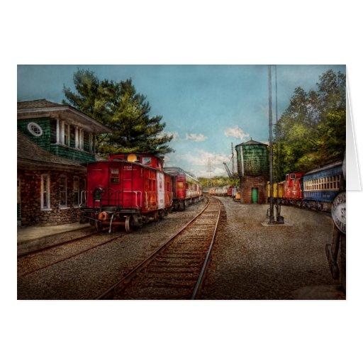 El tren - Caboose - los boletos satisface Felicitacion