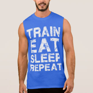 El tren come la repetición del sueño camiseta sin mangas