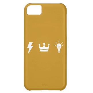 El trío de oro 02 carcasa para iPhone 5C