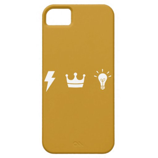 El trío de oro 02 iPhone 5 protector