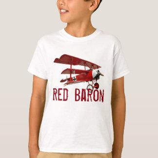 """El triplano del """"barón rojo"""" camiseta"""