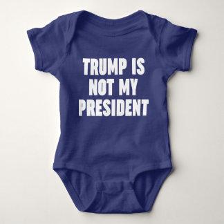 El triunfo no es mi presidente body para bebé