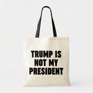 El triunfo no es mi presidente bolso de tela
