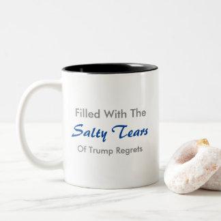 El triunfo rasga la taza de café