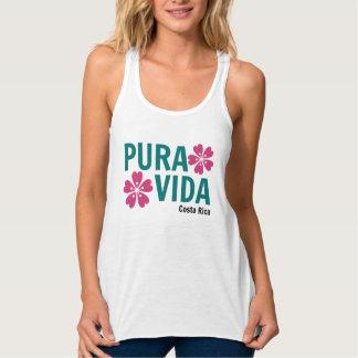 Camiseta blanca con diseño de Pura Vida