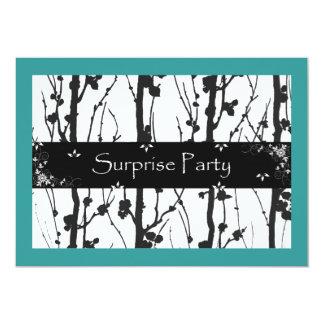 El trullo y ennegrece a todo el fiesta de sorpresa invitación 12,7 x 17,8 cm