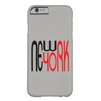 El Typestyle de Nueva York, New York City moderno Funda Barely There iPhone 6