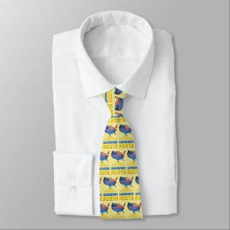 El ucraniano americano arraiga la corbata