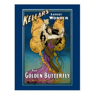 El último ~ de la maravilla de Kellar la mariposa Postal