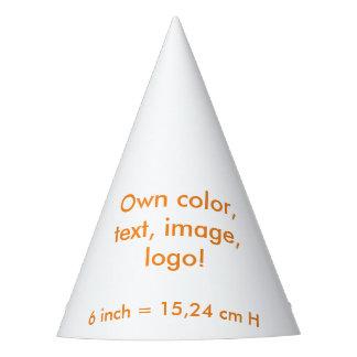 El ~ uni blanco del gorra del fiesta posee color