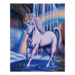 El unicornio baja poster