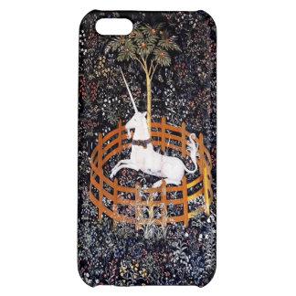 El unicornio en el iPhone 5c del cautiverio
