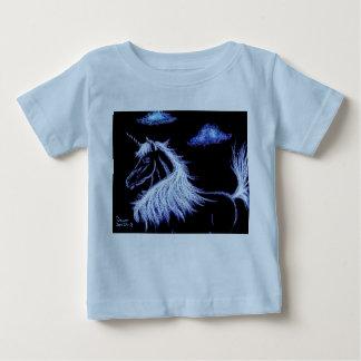 el unicornio soña el azul camisetas