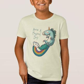 El unicornio tiene un día mágico camiseta