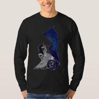 El unicornio y el dragón eternos del abrazo camiseta