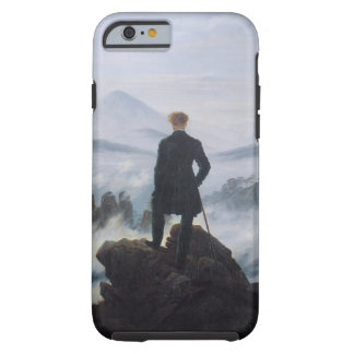 El vagabundo sobre el mar de la niebla funda de iPhone 6 tough