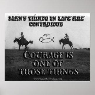 El valor es contagioso póster