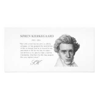 El valor más alto de las Kierkegaard-Vidas Tarjetas Fotograficas Personalizadas