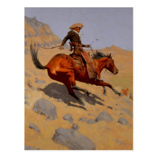 El vaquero postal