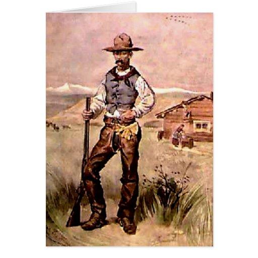 El vaquero tarjeta