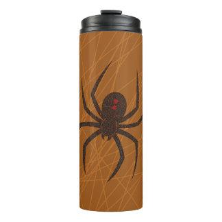 El vaso la termal del Web de araña